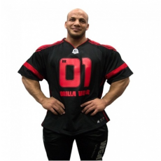 GW ATHLETE T-SHIRT BIG RAMY (BLACK/RED) [XXXL]