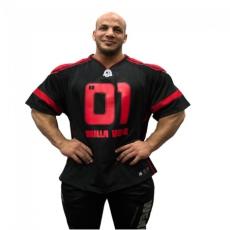 GW ATHLETE T-SHIRT BIG RAMY (BLACK/RED) [XXXL]