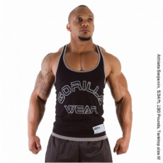 LOGO STRINGER TANK TOP (BLACK) [M]