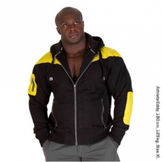 DISTURBED JACKET (BLACK/YELLOW) [S]