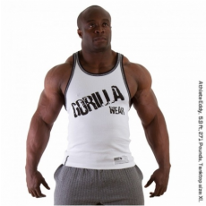 STAMINA  RIB TANK TOP (PURE WHITE) [XXL]