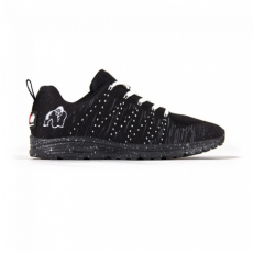 BROOKLYN KNITTED SNEAKERS - BLACK/WHITE (BLACK/WHITE) [45]