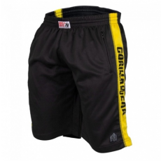 TRACK SHORTS (BLACK/YELLOW) [2XL/3XL]