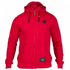 CLASSIC ZIPPED HOODIE RED (RED) [L]