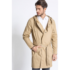 Review Kabát Hooded Trench