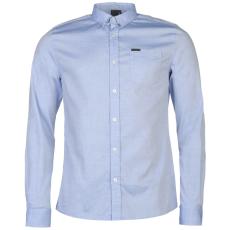 Firetrap Blackseal Basic Oxford férfi ing kék L