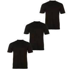 Donnay Three Pack férfi V nyakú póló fekete XL