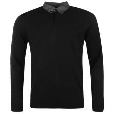 Pierre Cardin Collar férfi kötött pulóver fekete M