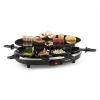 Klarstein Klarstein Blackjack, fekete, raclette grillsütő, 8 személyes, üvegkerámia, nemesacél
