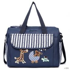 Miss Lulu London 08348 -matternity Changing táska Animal Friends Navy
