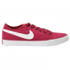 Nike Primo Court Canvas női sportcipő, Noble Red/White, 40 (631635-610-8.5)