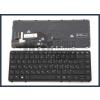 HP Elitebook 740 G2 trackpointtal (pointer) háttérvilágítással (backlit) fekete magyar (HU) laptop/notebook billentyűzet
