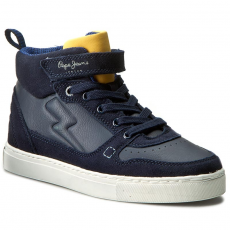 Pepe Jeans Sportcipő PEPE JEANS - Montreal Boot Boys PBS30225 Ace Blue 590