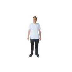 Biztonsági őr kereknyakú póló - Security fehér