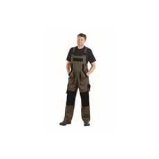 (MAX) kantáros nadrág barna - fekete