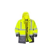 (S768) Executive 5 az 1-ben kabát sárga / szürke