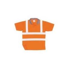 (RT22) Jól láthatósági teniszpóló narancs