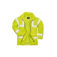 (S160) Lite Traffic kabát sárga