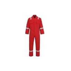(BIZ5) Bizweld™ lángmentes overall piros