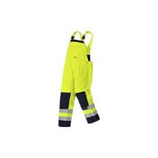 (TX72) Girona jól láthatósági kantáros nadrág sárga - sötétkék