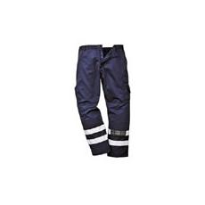 (S917) Jólláthatósági biztonsági nadrág sötétkék