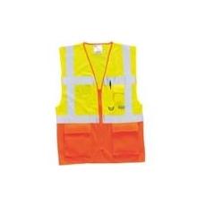 (S376) Vezető mellény EN 471 sárga/narancs