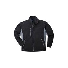 (TX40) Polár kabát fekete