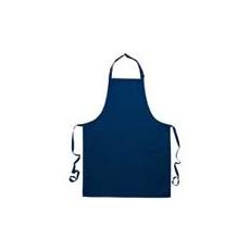 (S840) Melles pamut szakácskötény NA, sötétkék