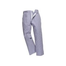 (S884) Szakácsnadrág, kék-fehér kiskockás