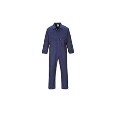 (C813) Liverpool zip overall sötétkék hosszított