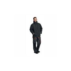 (EMERTON) Téli kabát fekete/narancs