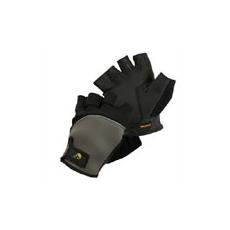 (FUSCUS) ujjvég nélküli védőkesztyű fekete