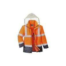 (S471) HI  VIS 4 az 1-ben contrast traffic kabát
