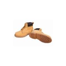(FARMER) Bőr bakancs sárga 01 orrmerevítő nélkül