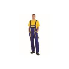 (MAX) kantáros nadrág kék-sárga