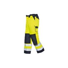 (TX51) Texo HiVis nadrág sárga/sötétkék