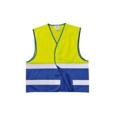 (C484) Hi-Vis kéttónusú mellény sárga/royal