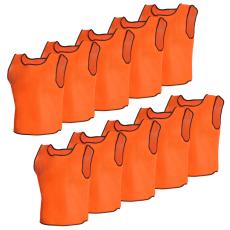 10 db Narancsszínű Sport Vállpántos Felső Felnőtteknek