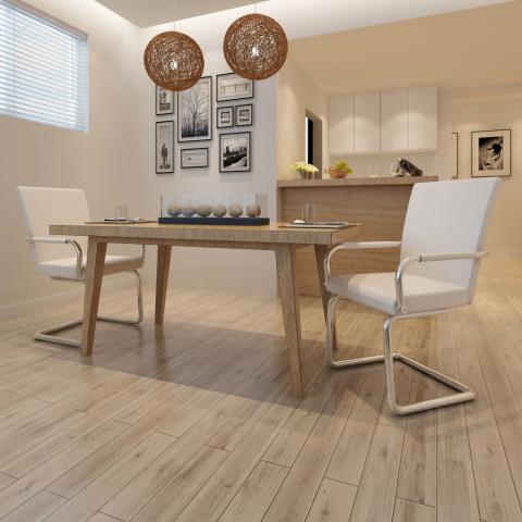 vidaXL 2 db fehér modern dizájnú, műbőr étkezőszék - Bútor: árak, összehasonlítás - Olcsóbbat.hu