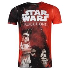 Star Wars Character férfi póló piros S