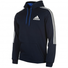 Adidas 3S Logo férfi kapucnis pulóver fehér S