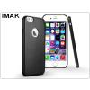 IMAK Apple iPhone 6 Plus/6S Plus hátlap - IMAK Ultra-Thin Leather - fekete
