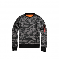 Alpha Industries X-Fit Sweat - fekete terep
