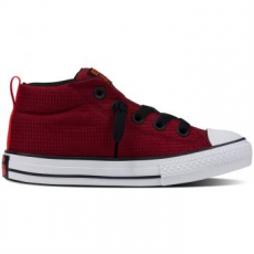 Converse Chuck Taylor All Star Street Mid gyerek tornacipő, Red Block/Black, 27 (654254C-607-10.5)