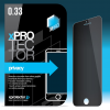 xPRO védőüveg, kijelzővédő üveg, üvegfólia, edzett üveglap – 0.33mm Privacy Apple Iphone 5 / 5C / 5S / SE készülékhez