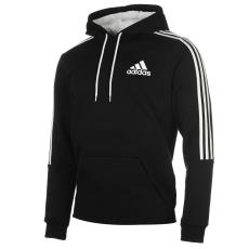 Adidas 3S Logo férfi kapucnis pulóver fekete S