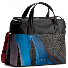 Calvin Klein Black Label Táska CALVIN KLEIN BLACK LABEL - Tin4 Large Tote K60K602378 910