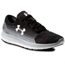 Under Armour Cipők UNDER ARMOUR - Ua Speedform Slingride Fade 1288254-001 Blk/Ocg/Wht