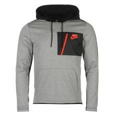 Nike AV15 férfi kapucnis pulóver szürke L