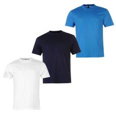 Donnay 3 Pack férfi póló kék 3XL